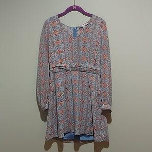 ♥️ 3 for $10 Forever 21 patterned dress